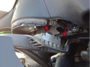 Tachoausbau Mercedes Sprinter Bild 2