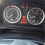 Tachoausbau BMW E60 Bild 1